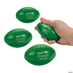 Mental Health Awareness Football Stress Balls