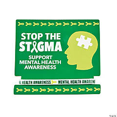 Mental Health Awareness Rubber Bracelets with Card