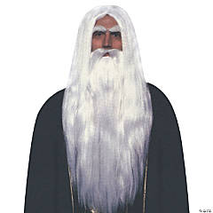 Merlin Wig & Beard Set