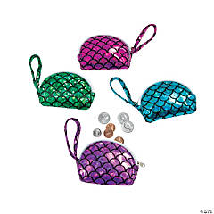 Mermaid Coin Purses