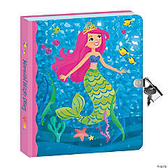 Mermaid Foil Diary