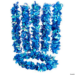 Mermaid Pearlized Blue Lei