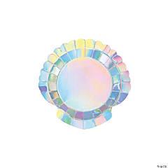 Mermaid Sparkle Dessert Paper Plates