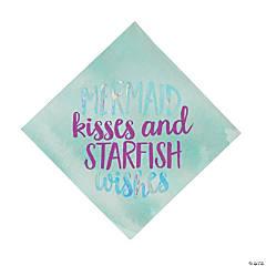 Mermaid Sparkle Luncheon Napkins
