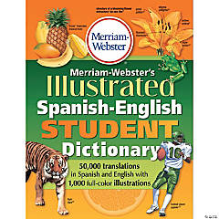 Merriam-Webster Illustrated Spanish-English Student Dictionary