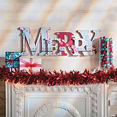 Merry Mantle Letters Idea