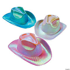 Metallic Cowboy Hat Assortment