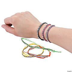 Metallic Friendship Bracelets