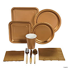 Metallic Gold Tableware