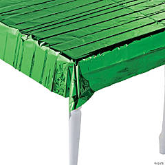Metallic Green Foil Tablecloth