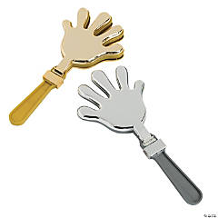Metallic Hand Clappers