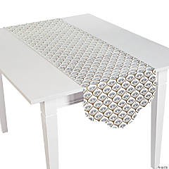 Metallic Lily Table Runner