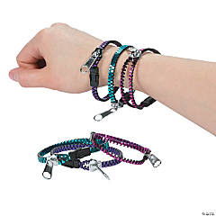 Metallic Zipper Bracelets