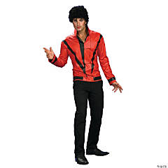 Michael Jackson Red Thriller Jacket Deluxe Adult Men's Costume