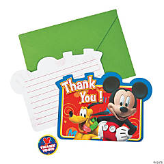 Mickey & Friends Thank You Cards
