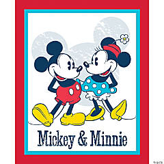 Mickey & Minnie Vintage15Yd D/R Panel