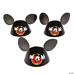 Mickey Die Cut Cone Hats