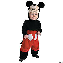 Mickey Mouse Infant's Costume With Tail