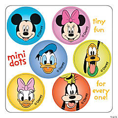 Mickey Mouse Mini Dot Stickers