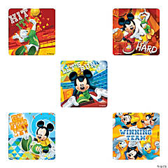 Mickey Mouse Sports Motivational Stickers
