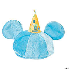 Mickey Mouse 1st Birthday Novelty Hat