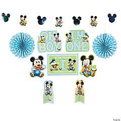 Mickey Mouse's 1st Birthday Decorating Kit