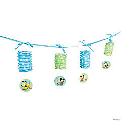 Mickey Mouse's 1st Birthday Lantern Garland