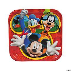 Mickey Playtime Dinner Plates