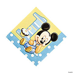 Mickey's 1st Birthday Luncheon Napkins