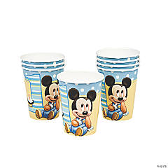 Mickey's 1st Birthday Cups