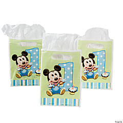 Mickey's 1st Birthday Treat Bags