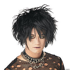 Midnight Fiend Black Wig