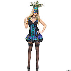Midnight Peacock Costume for Women