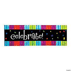 Milestone Celebration Add an Age Plastic Banner