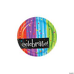 Milestone Celebration Paper Dessert Plates