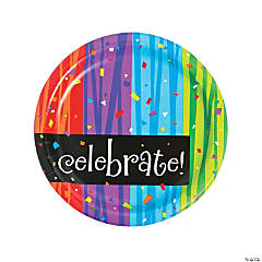 Milestone Celebration Paper Dinner Plates