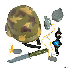 Military Dress-Up Set