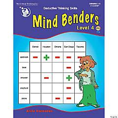 Mind Benders® Book 4, Grades 3-6
