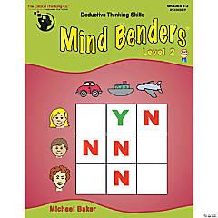 Mind Benders® Level 2, Grades 1-2, Set of 2 books