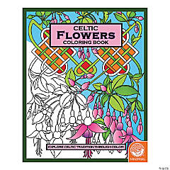 mindware celtic flowers adult coloring book - Coloring Books