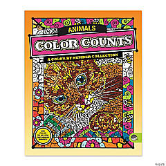 Mindware® Color Counts - Animals Coloring Book