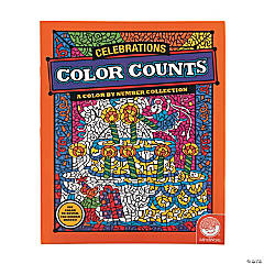 MindWare® Color Counts: Celebrations Adult Coloring Book