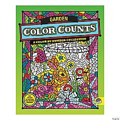 MindWare® Color Counts - Garden Coloring Book