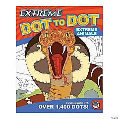 Mindware® Extreme Dot to Dot - Extreme Animals Coloring Book
