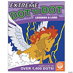 Mindware® Extreme Dot to Dot - Legends & Lore Coloring Book