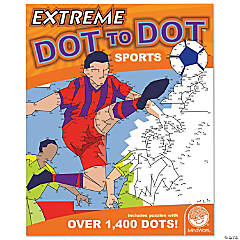 Mindware® Extreme Dot to Dot - Sports Coloring Book
