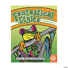 MindWare® Fantastical Styles: Jungle Adult Coloring Book