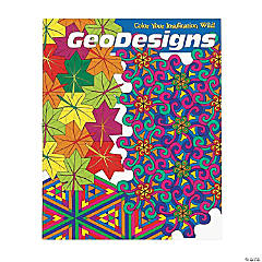 Mindware® GeoDesigns Adult Coloring Book