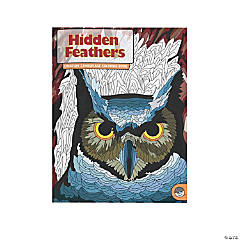 MindWare® Hidden Feathers Adult Coloring Book