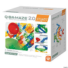 MindWare® Q-BA-MAZE 2.0: Mega Stunt Building Blocks Set